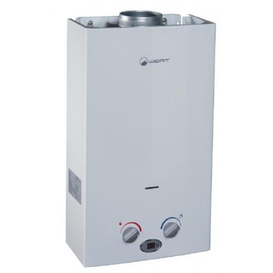 Газовый проточный водонагреватель Wert 10LC